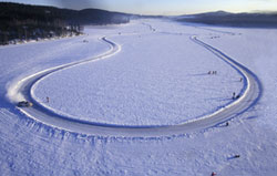 Frozen Lake Rally stage