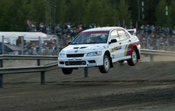 Mitsubishi EVO 7 - 2002 Production World Championship - Finland Super Special