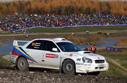 Subaru N10 - 2003 Production World Championship - Rally GB